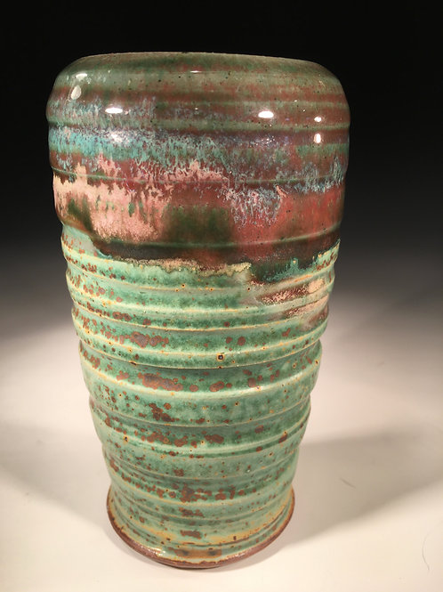 Stone Ware Flower Vase (Tumbler-Inspired)