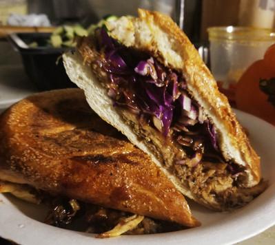Guava BBQ Sandwich