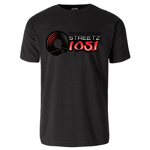 STREETZ LOGO TEE (BLACK)
