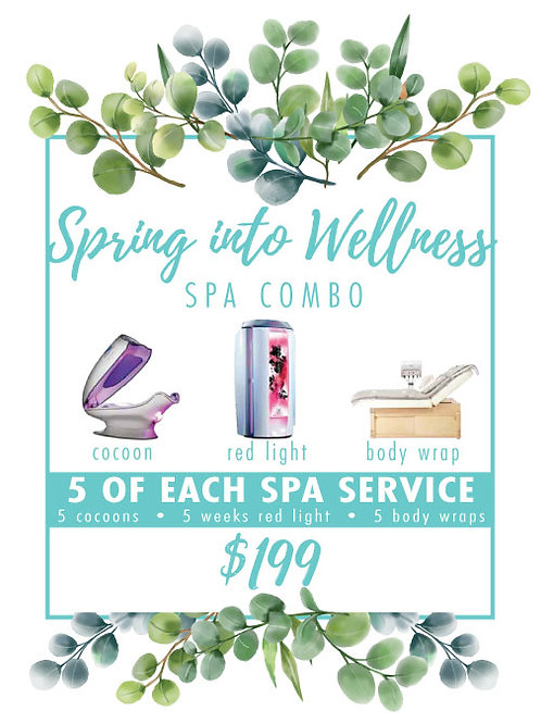 Spring into Wellness Spa Combo