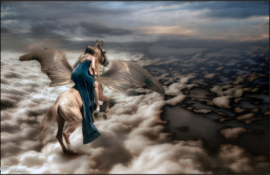 On a distant shore, by the wings of drea