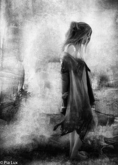 Forsaken, almost human, she sank beneath your wisdom like a stone sepia....