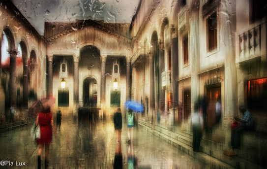 Rainy days in Split