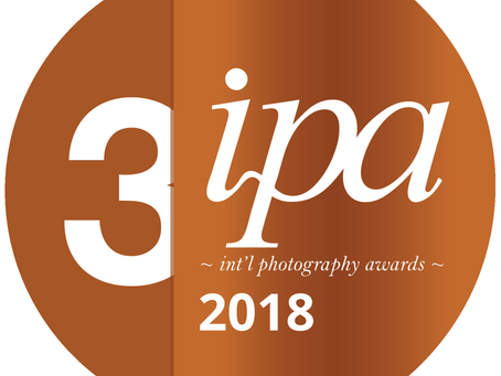 INTERNATIONAL PHOTOGRAPHY AWARDS: 3RD PLACE AND HONOURABLE MENTION!
