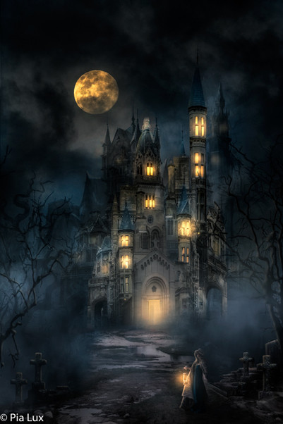 Here comes the night with howling silence....
