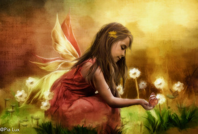 To be a fairy, to escape the reality