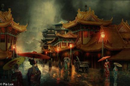 The Streets of Hanoi...