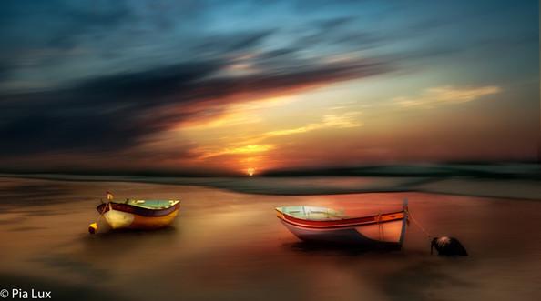 A colourful sunrise