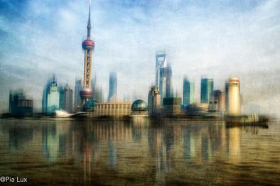 Shangai skyline