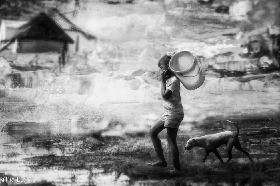Fetching our daily water