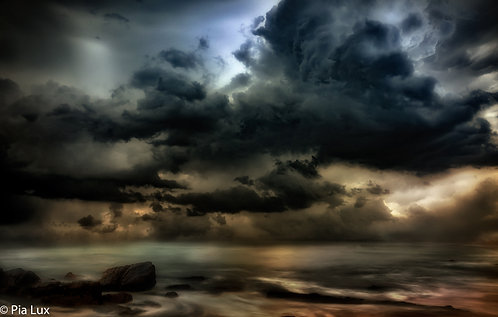 Facing the tempest