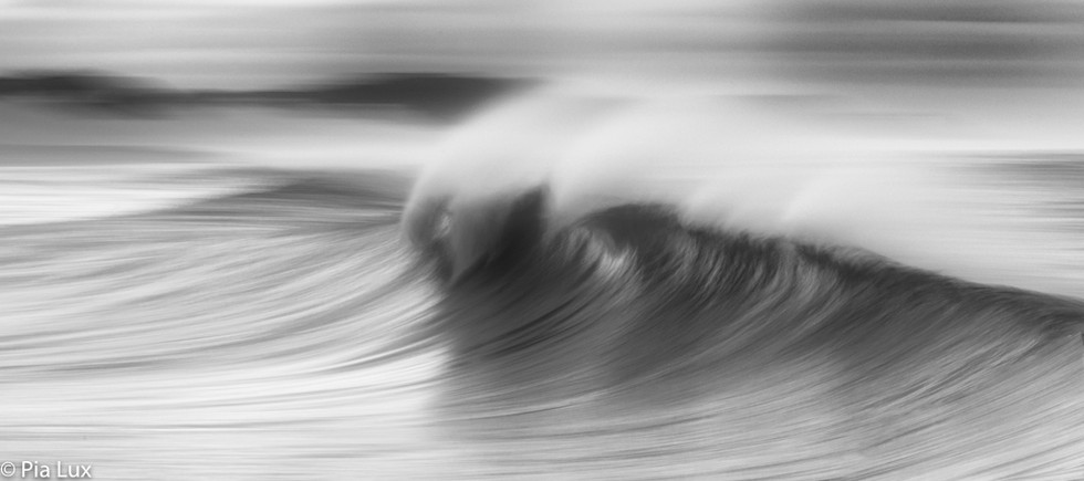 The silence of the waves mono