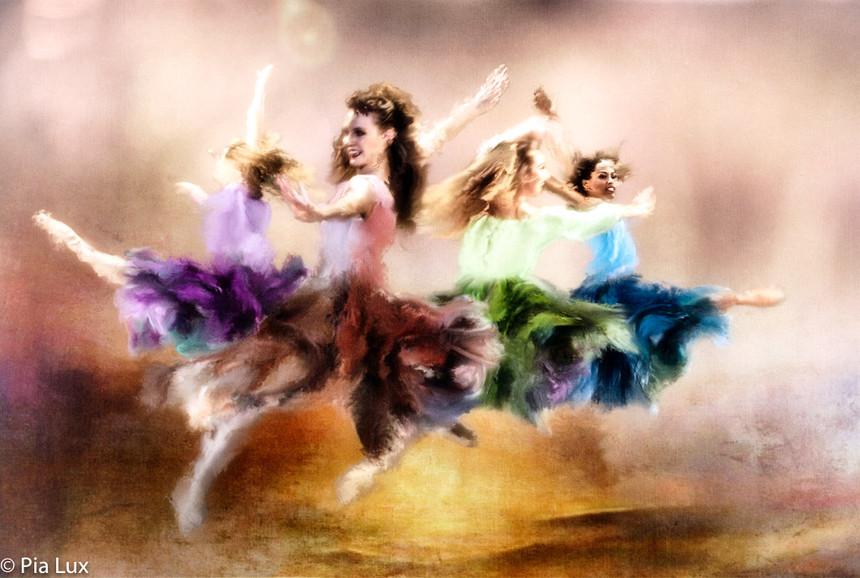 Dancing in the air...