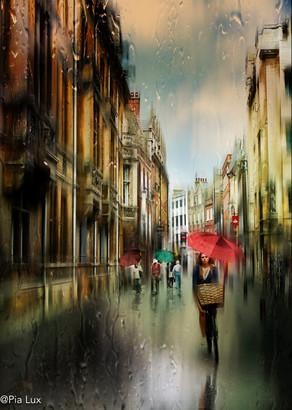 The streets of Cambridge