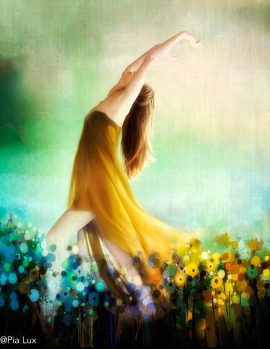 The flower dance