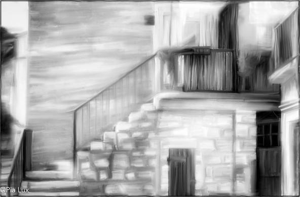 The staircase mono