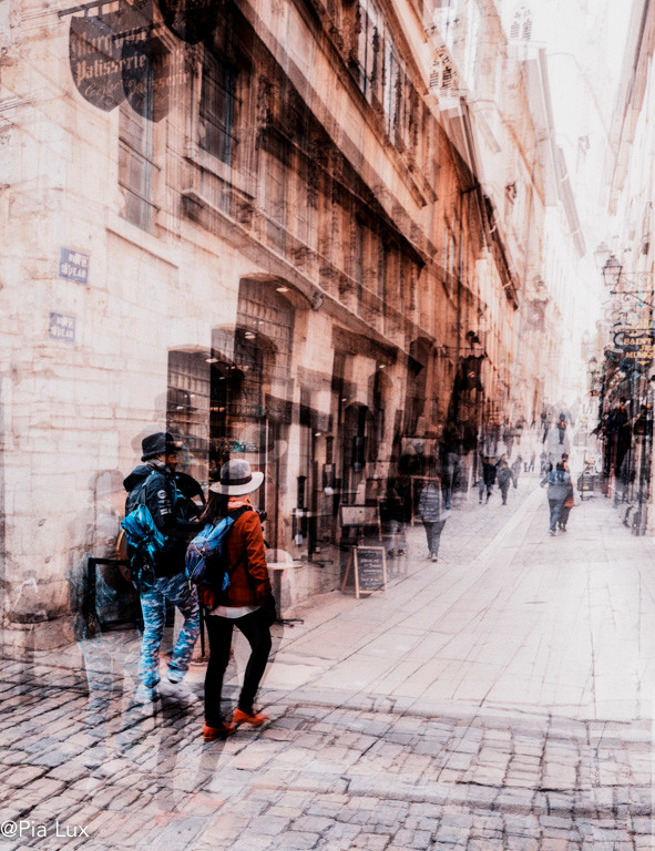Walking the streets of Lyon