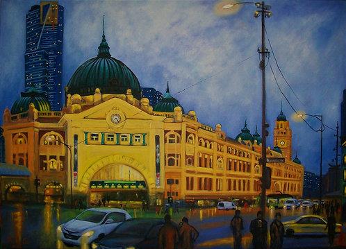 Rush Hour, Flinders Street Station