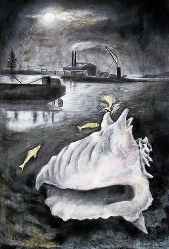 'Moonlit Shell'