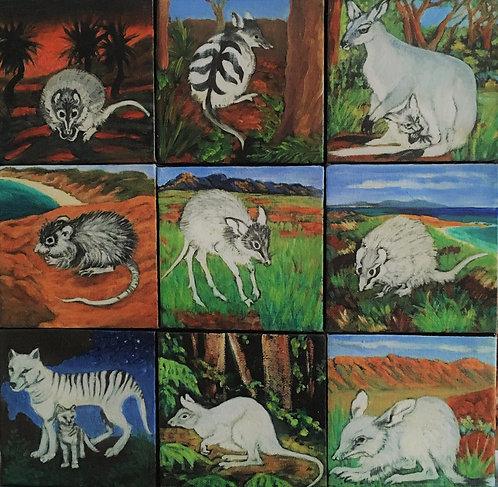 Nine Spirit Animals