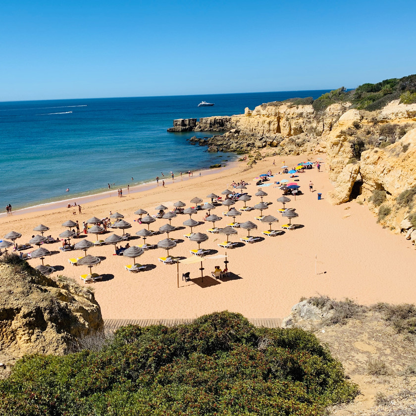 Beaches of  the Algarve Region