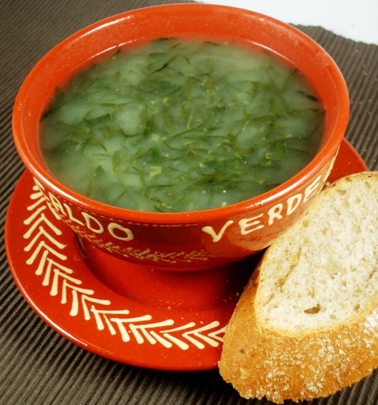 Caldo verde kale soup