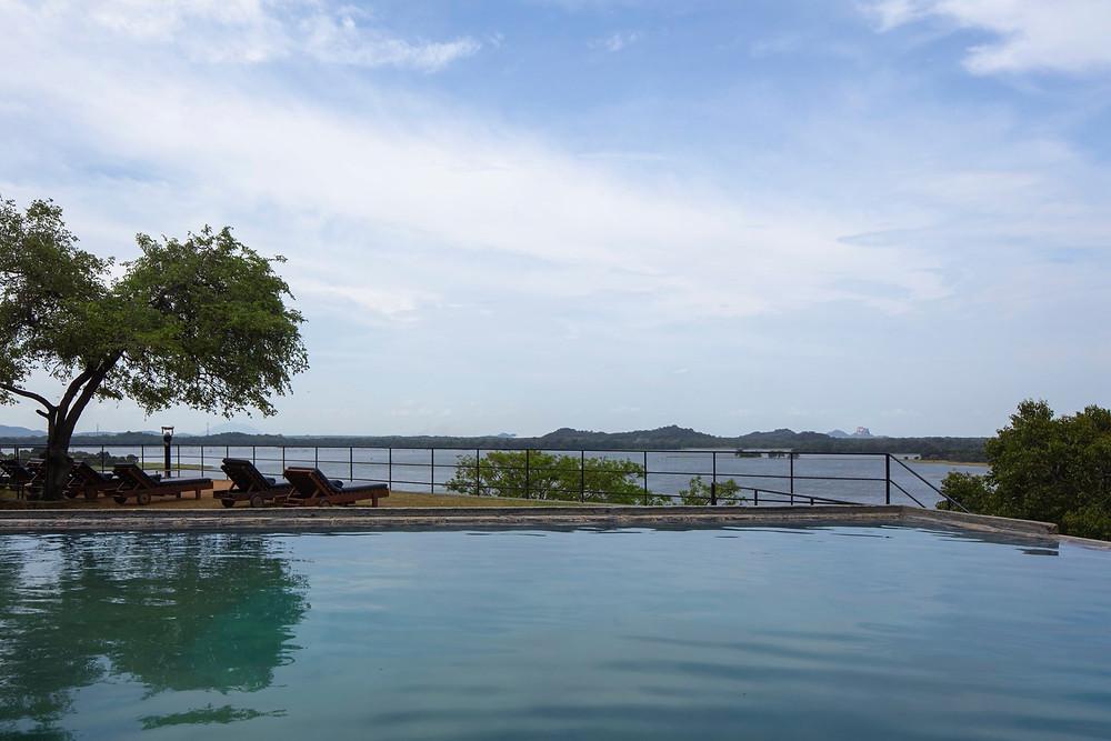 Kachchan Infinity Pool at The Heritance Kandalama Hotel
