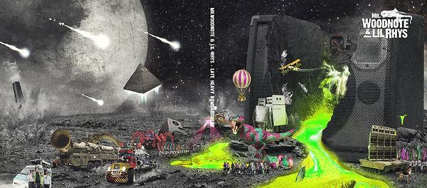 Mr Woodnote, Late Heavy Bombardment, Album Cover