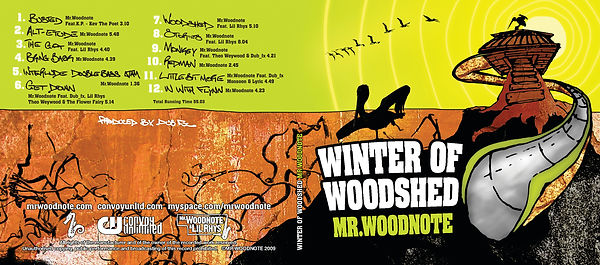 Mr Woodnote, Winter of Woodshed, Album Cover