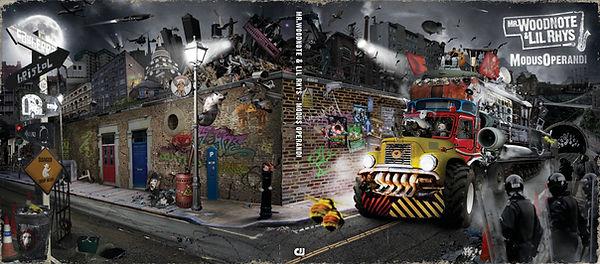 Mr Woodnote, Modus Operandi, Album Cover