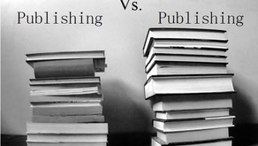 """Self-Publishing Vs. Traditional Publishing: A Simple Breakdown at Last!"""