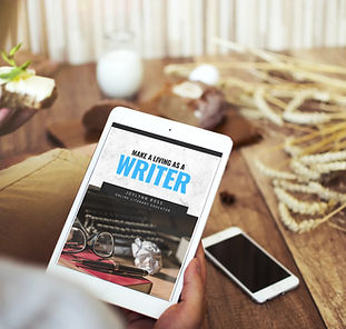 Make a living as a writer tablet.jpg