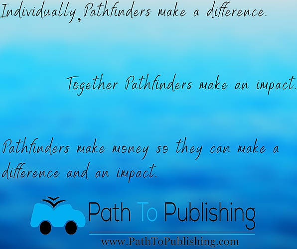 Copy of Individually Pathfinders   make