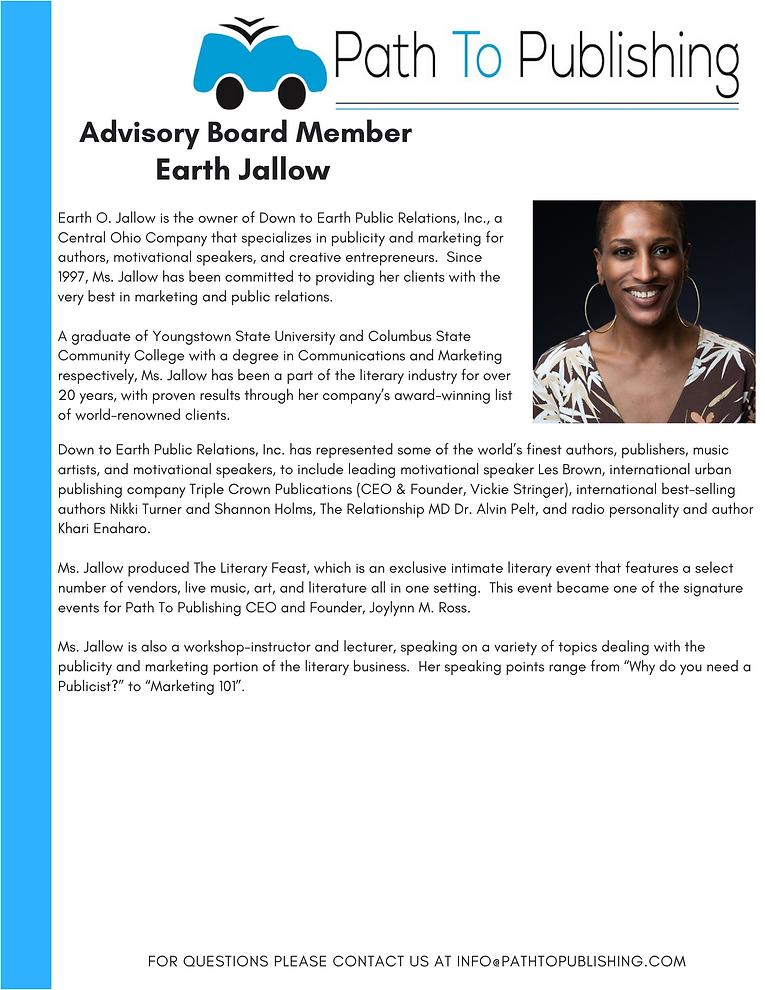Earth Jallow Advisory Board Member Bio.p