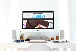 Build your book business computer screen