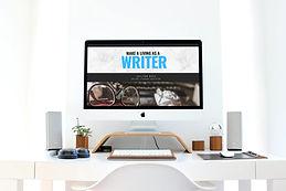 Make a living as a writer computer scree