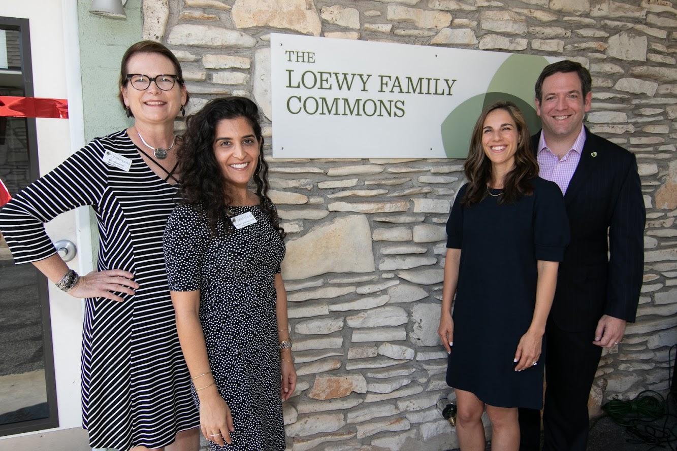 Mary, Annahita, Phil and Adam Loewy