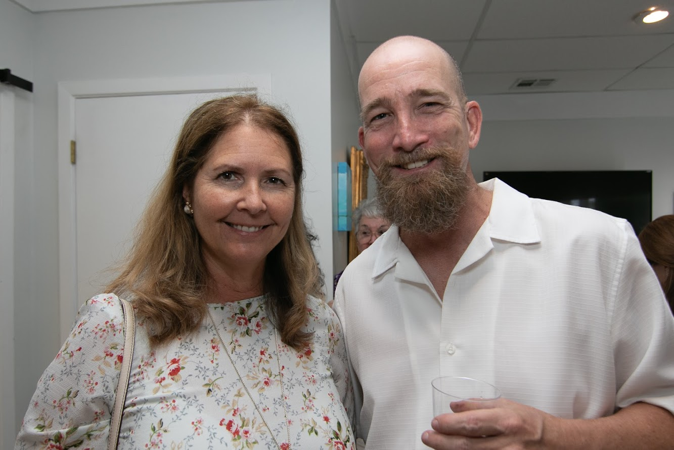 Baron Wilson and wife