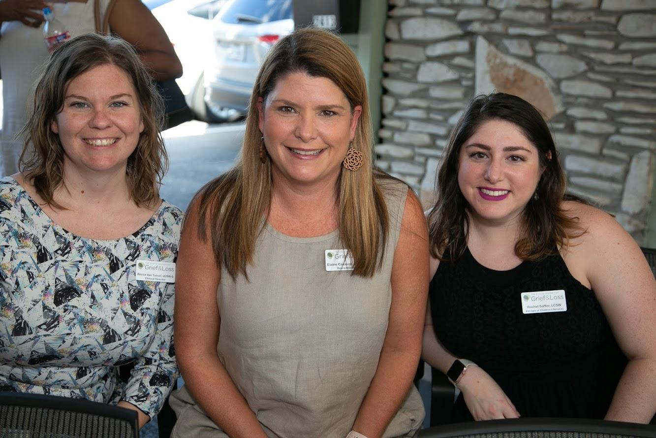 Becca, Elaine, Rachel