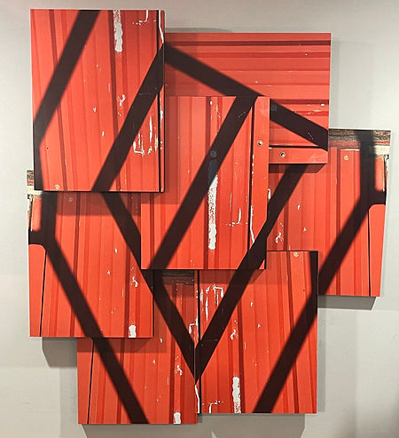 Linear Red Hanging.jpg