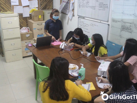 Fundlife hosts women empowerment session for GirlsGotThis participants during lockdown