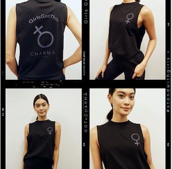 Chàrmà and GirlsGotThis partnership for International Womens Day
