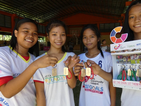 """FundLife partners with local establishments for GCL's """"Get the Chain, Let them Play"""" campaign"""