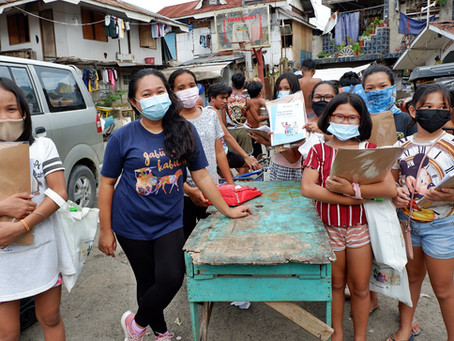 Safe-at-Home Packs Distribution in Cebu City