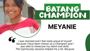 Batang Champion: An Embodiment of a Committed, Dedicated, and Passionate Player