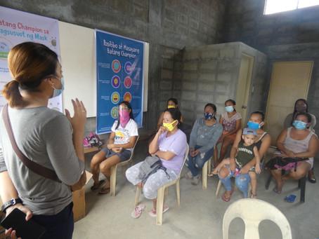 GirlsGotThis distributes Women Power Packs in Tacloban