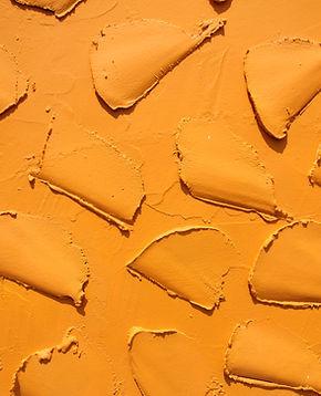 Uneven Orange Wall