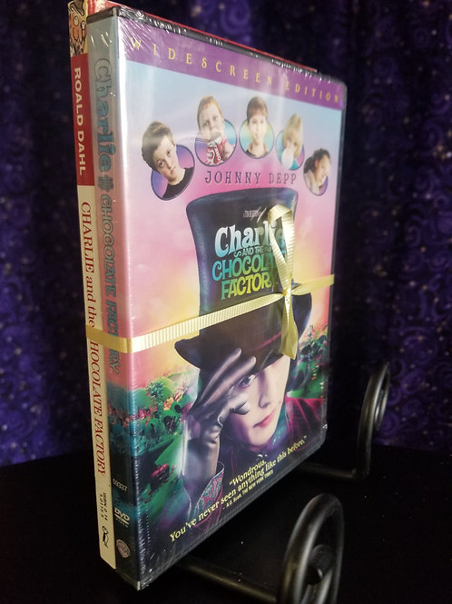 Charlie & the Chocolate Factory Book and Movie Bundle
