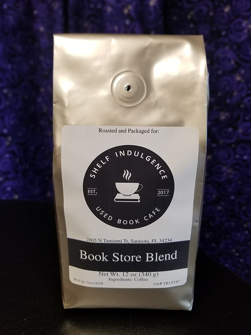 Bookstore Blend Coffee - 12 oz. Ground