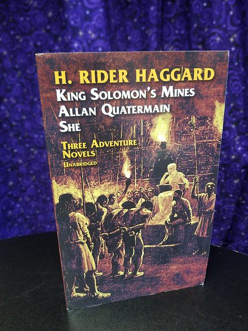 H. Rider Haggard: Three Adventure Novels